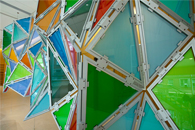 St. Michael's Hospital - Glass Hexagonal Perturbation -